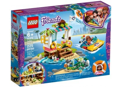 Na ratunek żółwiom LEGO Friends 41376