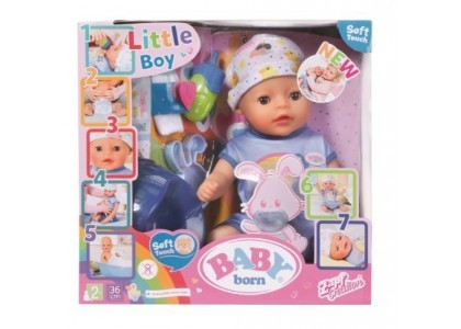 Lalka Soft Touch Chłopiec 36 cm Baby Annabell 827338