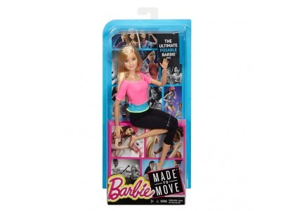 Made to move Lalka Barbie DHL81 / DHL82