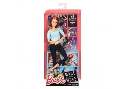Made to move Lalka Barbie DHL81 / DPP74