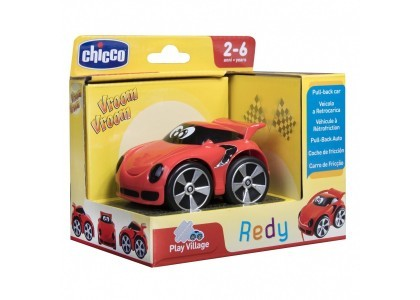 Mini Turbo Touch Redy - Czerwony Chicco 00009359000000