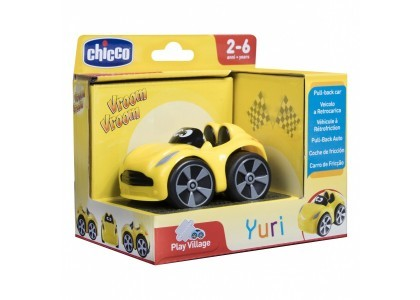 Mini Turbo Touch Yuri - Żółty Chicco 00009360000000