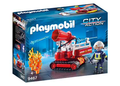 Robot do gaszenia pożaru City Action 9467