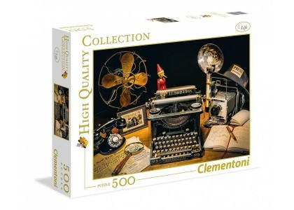 HQ The typewriter 500 elementów Puzzle Clementoni 35040