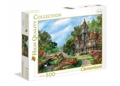 HQ Old Waterway Cottage 500 elementów Puzzle Clementoni 35048
