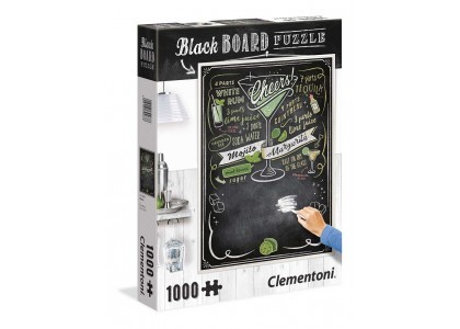 BLACK BOARD Cheers 1000 elementów Puzzle Clementoni 39467