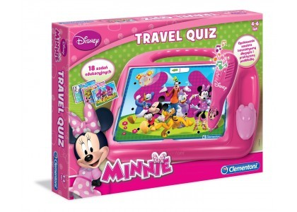 Travel Quiz Minnie Clementoni 60239