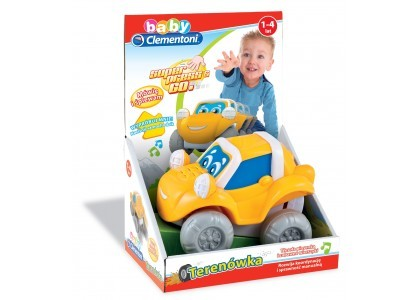 Terenówka Press & Go Clementoni Baby 60095