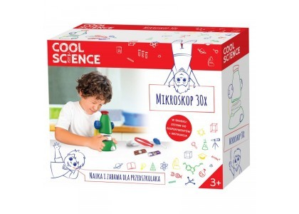 Mikroskop 30x Cool Science DKN4003