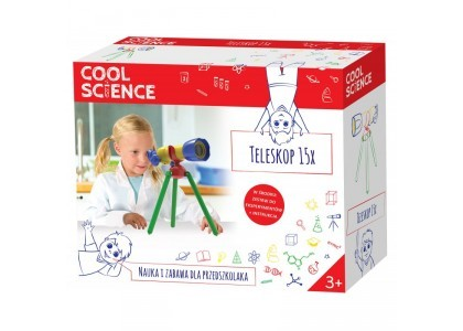 Teleskop 15x Cool Science DKN4005