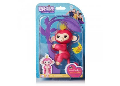 Różowa Małpka - Bella Fingerlings 3705A