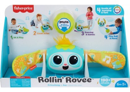 Interaktywny turlaczek Rovee Fisher Price GRW59