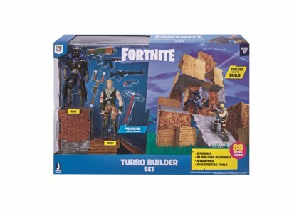 Dwupak Figurek - Turbo Builder Fortnite FNT0036