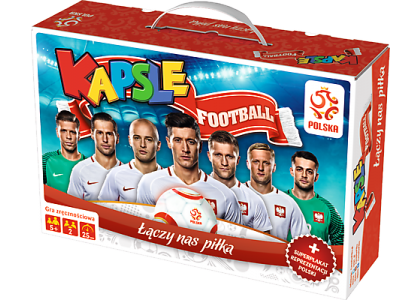 Kapsle football PZPN Gra 01365