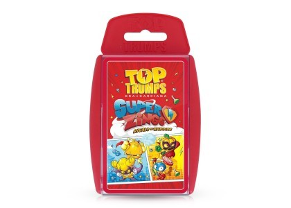 Top Trumps Super Zings Gra 40013