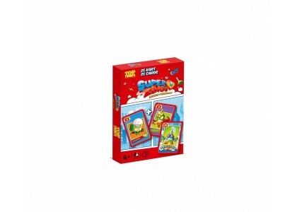 Top Trumps Piotruś Super Zings Gra 41096