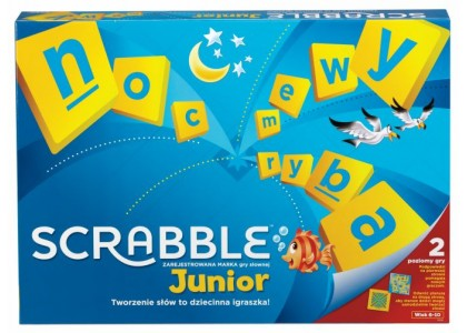 Scrabble Junior Gra Y9735