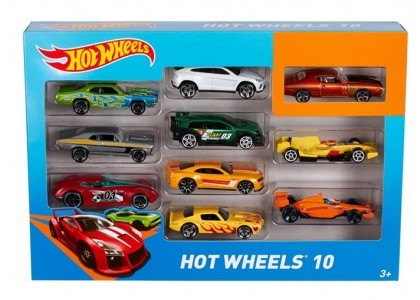 10-pak Hot Wheels 54886