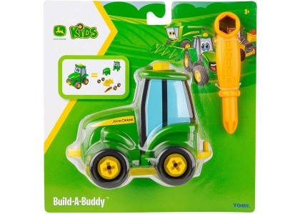 Zbuduj mini traktorek - Johnny  John Deere 47208