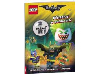 Witamy w Gotham City! LEGO Batman Movie LNC453
