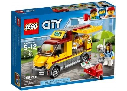 Foodtruck z pizzą LEGO City 60150