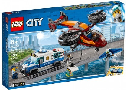 Rabunek diamentów LEGO City 60209