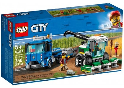Transporter kombajnu LEGO City 60223