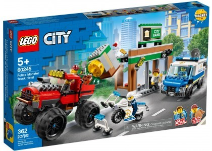 Napad z monster truckiem LEGO City 60245