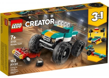 Monster truck LEGO Creator 31101