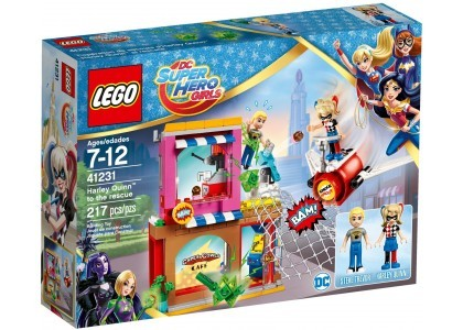 Harley Quinn™ na ratunek LEGO DC Super Hero Girls 41231