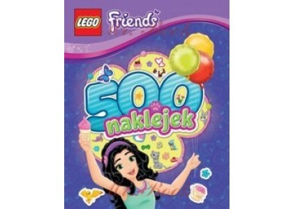 500 naklejek LEGO Friends LBS103