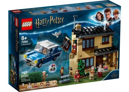 Privet Drive 4 LEGO Harry Potter 75968