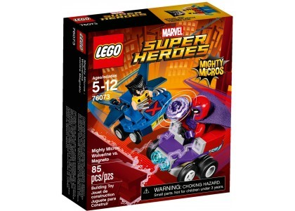 Mighty Micros: Wolverine kontra Magneto LEGO Marvel Super Heroes 76073