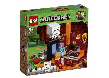 Portal do Netheru LEGO Minecraft 21143