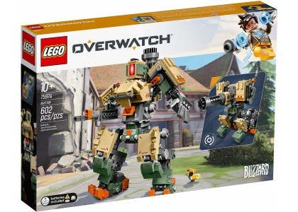 Bastion LEGO Overwatch 75974