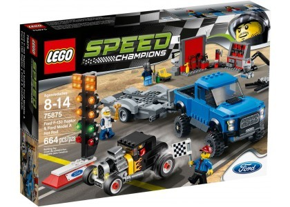 Ford F-150 Raptor i Ford Model A LEGO Speed Champions 75875 Pudełko