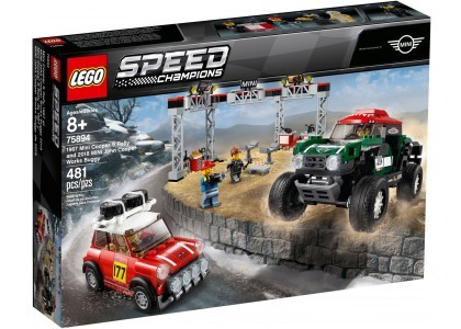 1967 Mini Cooper S Rally oraz 2018 MINI John Cooper Works Buggy LEGO Speed Champions 75894