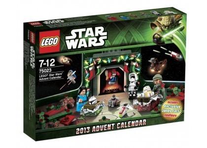 Kalendarz adwentowy LEGO Star Wars 2013