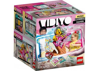 Candy Mermaid BeatBox LEGO Vidiyo 43102