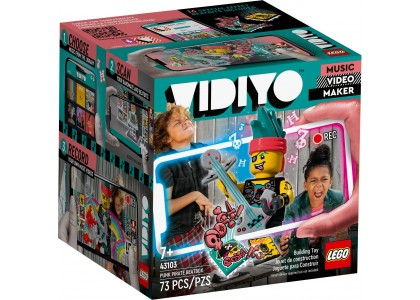 Punk Pirate BeatBox LEGO Vidiyo 43103