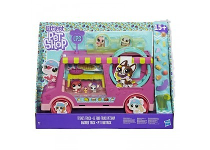 Food Truck ze zwierzakami Littlest Pet Shop E1840