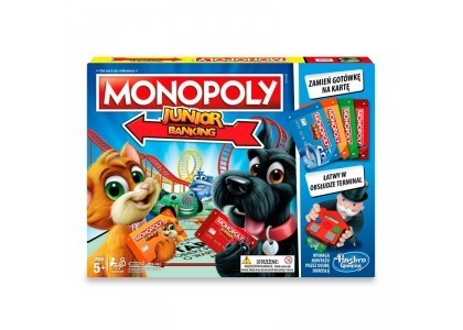 Monopoly Junior Electronic Banking Monopoly E1842