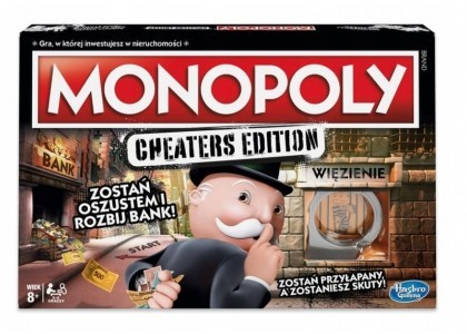 Monopoly - Cheaters Edition Monopoly E1871