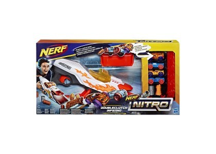 Nitro Double Cluth Inferno Nerf E0858