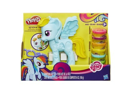 Salon fryzjerski Rainbow Dash Play-Doh B0011