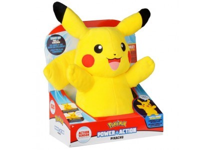 Interaktywny Pluszowy Pikachu Power Action Pokemon 97834