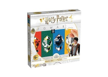 Harry Potter House Crest Herby 500 elementów Puzzle 00369