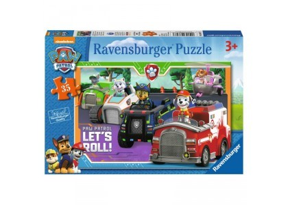 Psi Patrol - Let's Roll Puzzle 086177