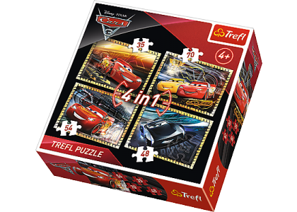 Cars 3: Gotowi do wyścigu Puzzle 34276