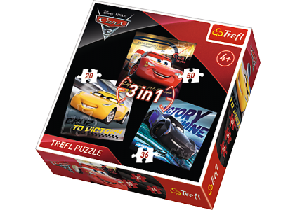 Cars 3: Legendy wyścigu Puzzle 34820